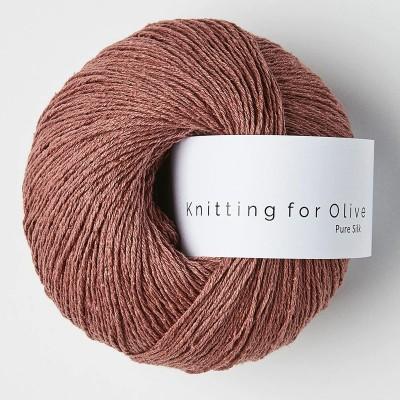 Włóczka Pure Silk Plum Rose (Knitting for Olive)