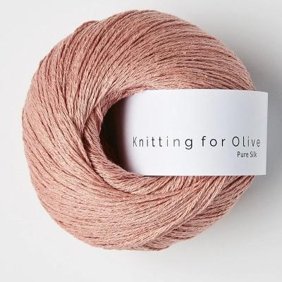 Włóczka Pure Silk Rhubarb Juice (Knitting for Olive)