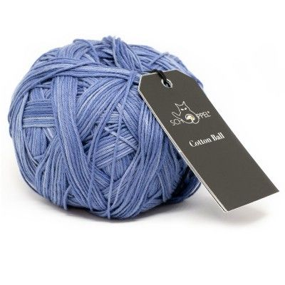 Włóczka Cotton Ball 2275 Ink (Schoppel)