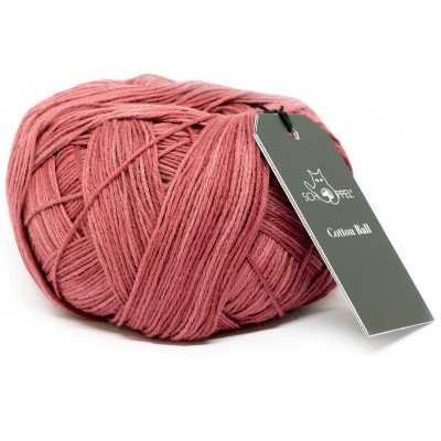 Włóczka Cotton Ball 2273 Brick Red (Schoppel)