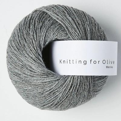 Włóczka Merino Granite Gray (Knitting for Olive)