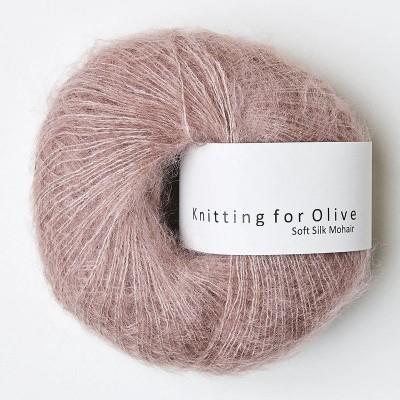 Włóczka Soft Silk Mohair Dusty Rose (Knitting for Olive)