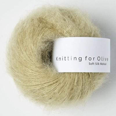 Włóczka Soft Silk Mohair Fennel Seed (Knitting for Olive)