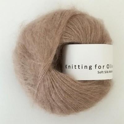 Włóczka Soft Silk Mohair Mushroom Rose (Knitting for Olive)