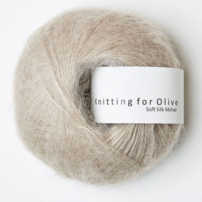 Włóczka Soft Silk Mohair Oat (Knitting for Olive)