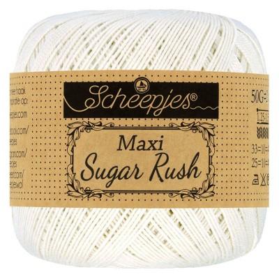 Kordonek Maxi Sugar Rush 105 Bridal White (Scheepjes)