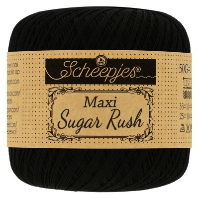 Kordonek Maxi Sugar Rush 110 Black  (Scheepjes)