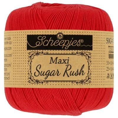 Kordonek Maxi Sugar Rush 115 Hot Red (Scheepjes)