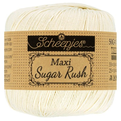 Kordonek Maxi Sugar Rush 130 Old Lace (Scheepjes)