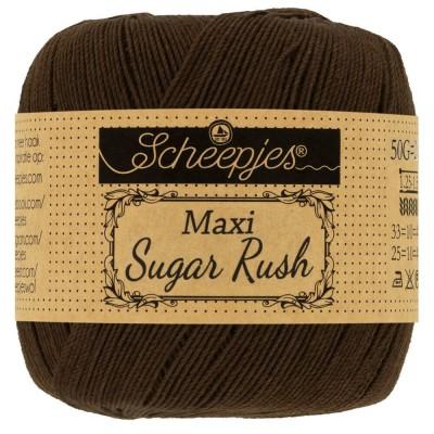 Kordonek Maxi Sugar Rush 162 Black Coffee (Scheepjes)