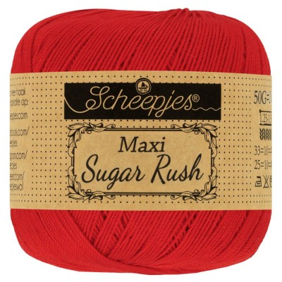 Kordonek Maxi Sugar Rush 722 Red (Scheepjes)