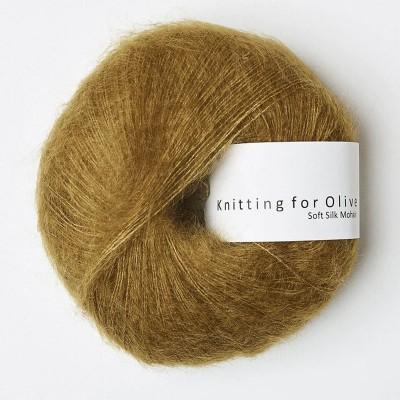 Włóczka Soft Silk Mohair Dark Mustard (Knitting for Olive)
