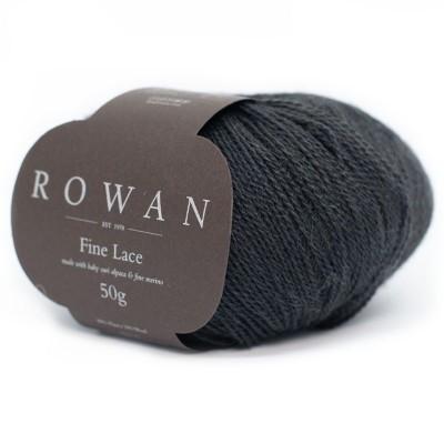 Włóczka Fine Lace 934 Noir (Rowan)