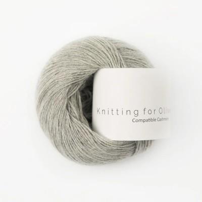 Włóczka Compatible Cashmere Gray Lamb (Knitting for Olive)