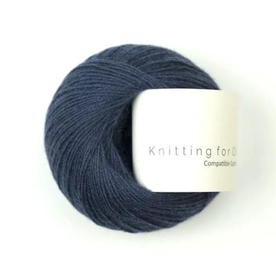 Włóczka Compatible Cashmere Navy Blue (Knitting for Olive)
