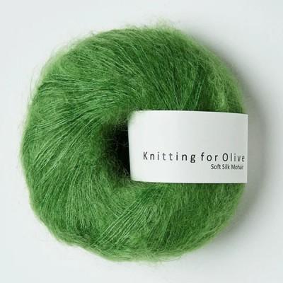 Włóczka Soft Silk Mohair Clover Green (Knitting for Olive)