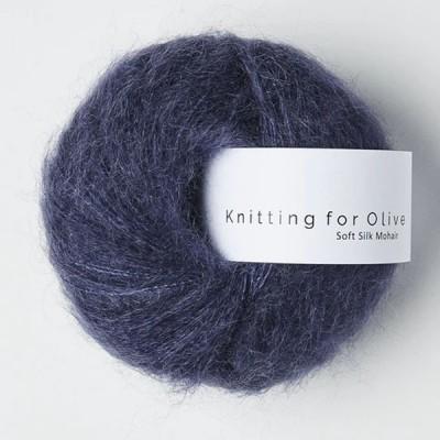 Włóczka Soft Silk Mohair Dark Blue (Knitting for Olive)