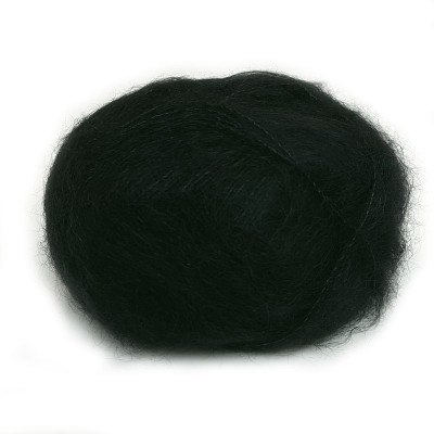 Włóczka Brushed Lace mohair 3036 Sort (Mohair by Canard)