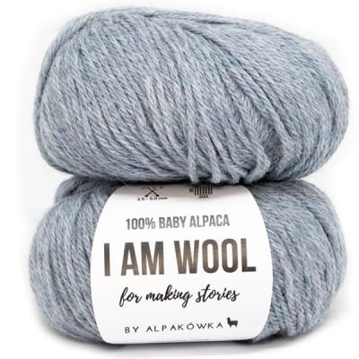 Włóczka I AM WOOL Jeans (by Alpakówka)