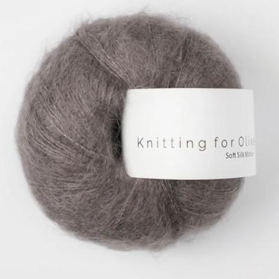 Włóczka Soft Silk Mohair Plum Clay (Knitting for Olive)