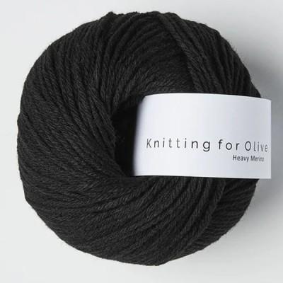 Włóczka Heavy Merino Coal (Knitting for Olive)