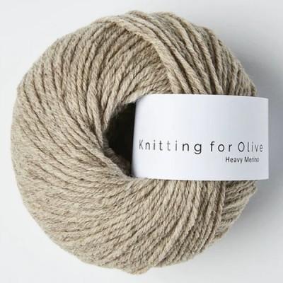 Włóczka Heavy Merino Oatmeal (Knitting for Olive)