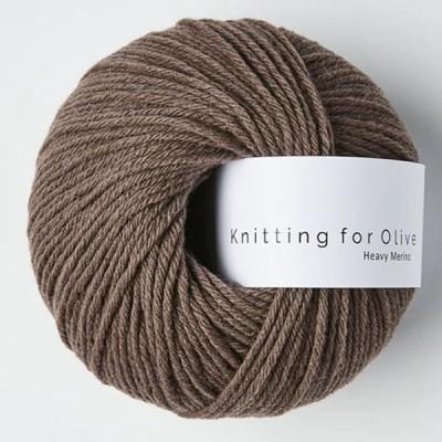 Włóczka Heavy Merino Plum Clay (Knitting for Olive)