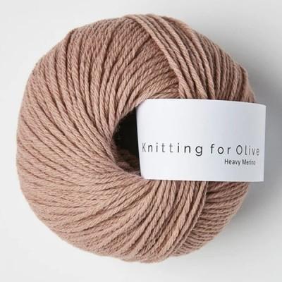 Włóczka Heavy Merino Rose Clay (Knitting for Olive)