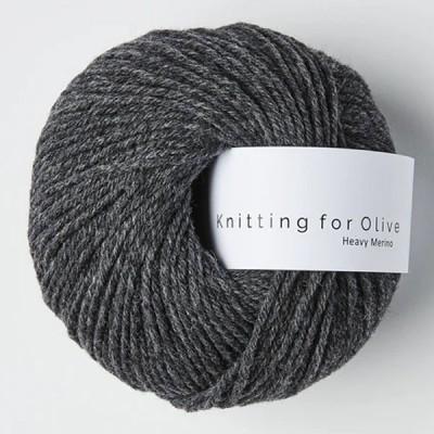 Włóczka Heavy Merino Slate Gray (Knitting for Olive)