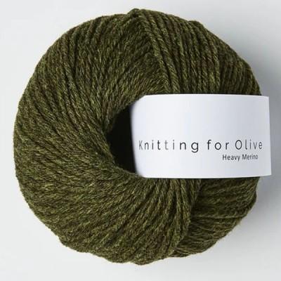 Włóczka Heavy Merino Slate Green (Knitting for Olive)