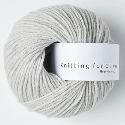 Włóczka Heavy Merino Soft Gray (Knitting for Olive)