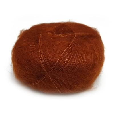 Włóczka Brushed Lace mohair 3048 Cognac (Mohair by Canard)
