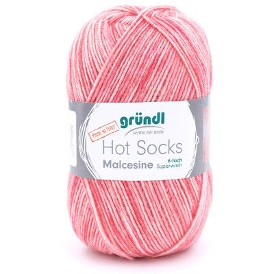 Włóczka Hot Socks Malcesine 6-fach 02 (Gründl)