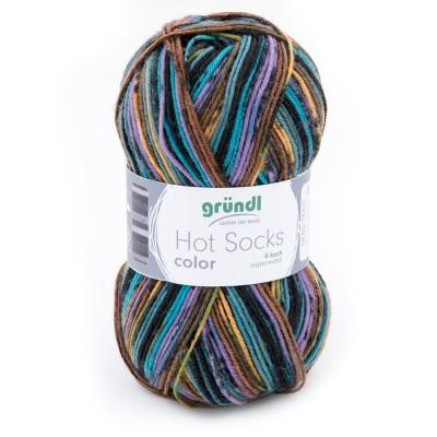 Włóczka Hot Socks Color 409 (Gründl)