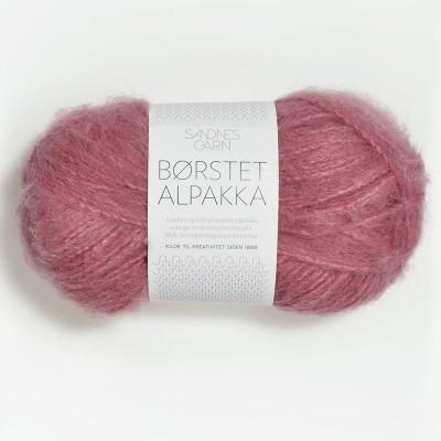 Włóczka Børstet Alpakka 4324 Varm Rosa (Sandnes Garn)