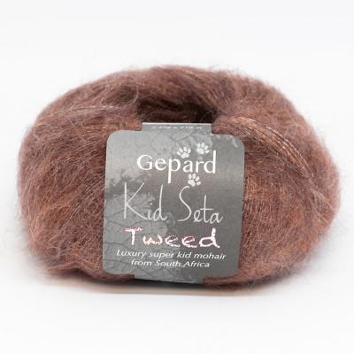 Włóczka Kid Seta Tweed 642/662 (Gepard)