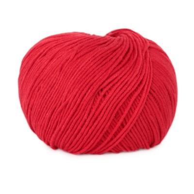 Włóczka Jeans 8008 czerwony (Vlna)