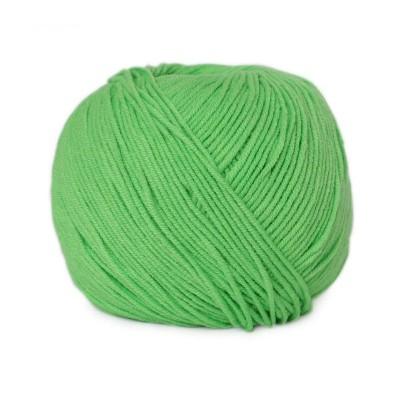 Włóczka Jeans 8155 intensywna zieleń (Vlna)