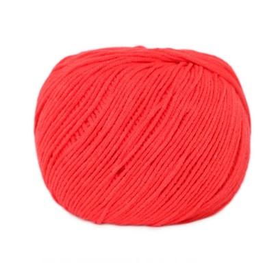 Włóczka Jeans 8303 intensywna czerwień (Vlna)