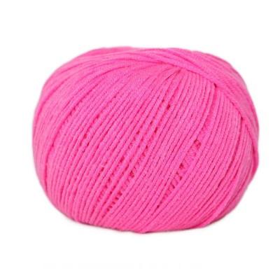 Włóczka Jeans 8304 różowy neon (Vlna)