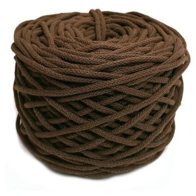 Sznurek bawełniany 5mm brąz (21)