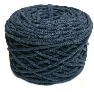 Sznurek bawełniany 5mm ciemny jeans (34)