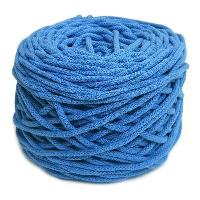 Sznurek bawełniany 5mm niebieski (16)