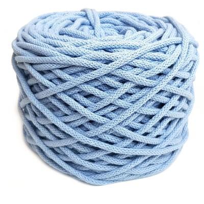 Sznurek bawełniany 5mm jasny niebieski (20)
