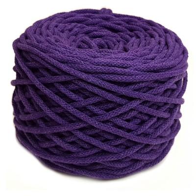 Sznurek bawełniany 5mm fiolet (28)