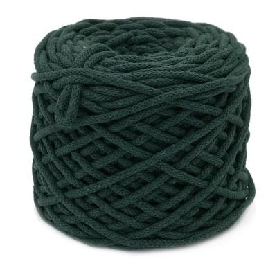 Sznurek bawełniany 5mm ciemna zieleń (22)