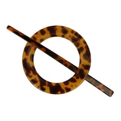 Zapinka plastikowa okrągła 77 mm